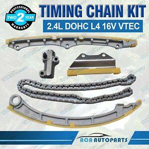 Timing Chain Kit Fit for Honda Accord CRV Element 2.4L DOHC VTEC K24A1 K24A4 A8