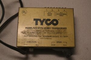 Vintage TYCO Model No. 899V Hobby Transformer