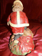 Tom Clark, Rare Hand Signed, Figure Santa's Smile 1995 Christmas 11 Tall #94
