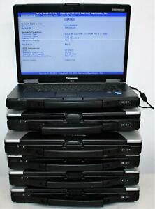 "6x Lot 15.4"" CF-52 Panasonic Toughbook Rugged Intel Core i3 i5 2GB MK3 READ !"