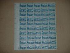 1959 4¢ ARCTIC EXPLORATION - DOG SLED, SUBMARINE - SCOTT #1128 5x10 SHEET MINT