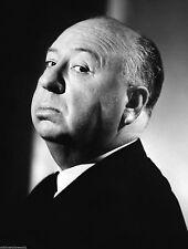 Alfred Hitchcock Profile Black And White 8x10 Photo Picture Celebrity Print