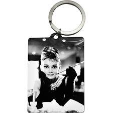 Portachiavi Vintage Design Mod.  Audrey Hepburn - Holly Golightly