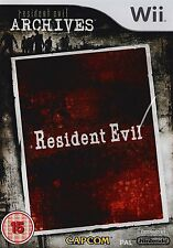 Resident Evil Archives Nintendo Wii PAL Brand New
