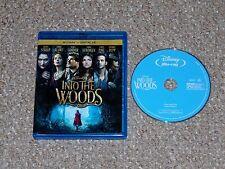 Disney's Into the Woods Blu-ray 2015 Chris Pine Meryl Streep