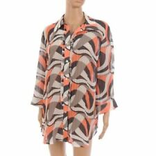 Polyester Regular Size Tops for Women with Ruffle