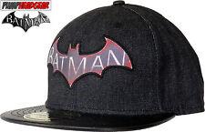 DC Comics Batman Chevalier D'Arkham Noir Casquette
