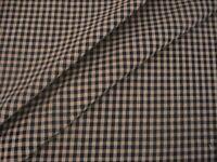 Antique Primitive Black Tan Halloween Rag Quilt Cotton Doll Homespun Fabric