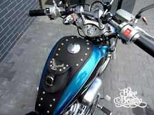 S Honda Shadow VT600 VT 600 LEDER tank panel Abdeckung Abdeckmatte BH Lätzchen