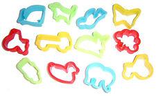 Jouez la pâte (Play Doh) / biscuit cutters Pack de 12-Assortiment de formes