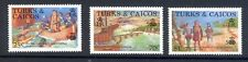 Turks and Caicos Explorers Ships Columbus SG913/5 MNH
