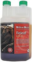 HILTON HERBS RELEAF GOLD HERBAL BUTE HORSE SUPPLEMENT 1 LITRE