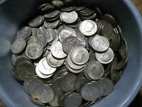 Roll Of 20 Kennedy Half Dollars Dated 1965-1969 40 Percent Silver #82