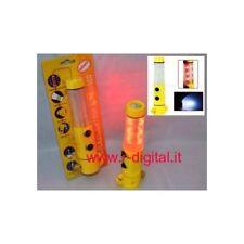 LAMPADA LED MULTIFUNZIONE EMERGENZA MAGNETICA LAMPEGGIANTE ALLARME LAMPADINA
