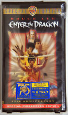 NIB 25th Anniversary Special Edition Bruce Lee Enter the Dragon VHS Sealed 1998.