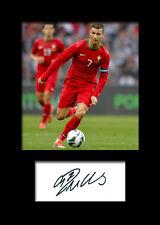 CRISTIANO RONALDO #2 Signed Photo Print A5 Mounted Photo Print - FREE DELIVERY