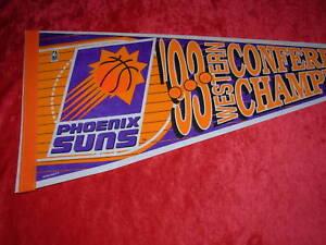 1993 Phoenix Suns West Champs Basketball Pennant