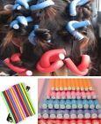 HS11 Curler Makers Soft Foam Bendy Twist Curls tool DIY Styling Hair Rollers NEW