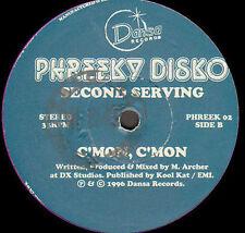 PHREEKY DISKO - Second Serving - dansa - PHREEK 02 - 1996 - Uk