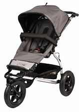 Mountain Buggy 2011 Urban Jungle Stroller in Flint Gray with RAIN COVER - NEW!