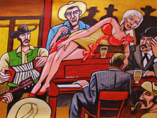 MARILYN MONROE PRINT poster river of no return movie robert mitchum cowboy hat