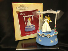 Hallmark Ornament 2005 Cinderella Wedding Day Dance Windup Music Movement