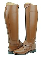 Hispar Invader2 Ladies Women Tall knee high Leather Equestrian Polo Riding Boots