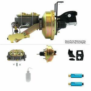 """1948-1952 Ford F-1 Frame Mount Power 8"""" Single Brake Booster Kit Disc/Disc V8"""
