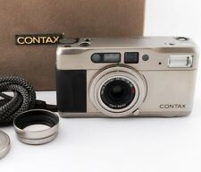 [Near MINT in BOX]Contax TVS Point & Shoot 35mm Film Camera W/strap Japan #174