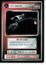 STAR TREK CCG Q CONTINUUM RARE CARD I.K.C. MANHT-H'A