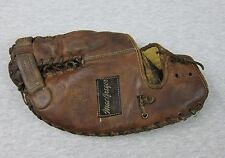 Vintage MacGregor Baseball Dark Brown Leather Glove G151 made in USA