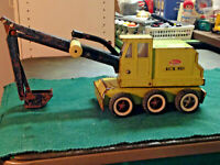 ***LOOK*** tonka backhoe MADE IN CANADA shovel excavator dump truck