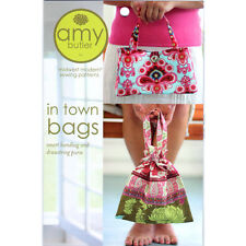 """AMY BUTLER """"IN TOWN BAGS"""" Sewing Pattern"""