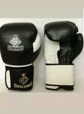 GK BOXING GLOVES BEST QUALITY Cowhide Leather  MMA UFC K1 16oz