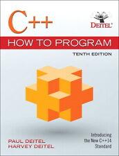C++ How to Program by Harvey Deitel, Paul Deitel - 10th Edition, U.S. Version 🔥