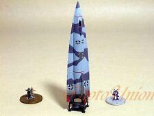 Takara Famous Airplane 3#13 SECRET 1:144 German V2 A-9 Rocket + LED light