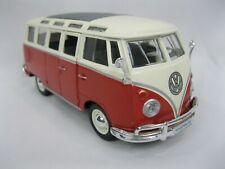 Maisto Volkswagen Van Samba Diecast 1:25 Scale Model