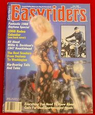 EasyRiders Magazine #181 July 1988 David Mann Centerfold NEW Condition