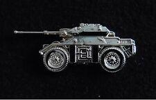 Fox cvr(w) Pin Badge,13th/18th hussars 9th/12th lancers QDG HCR QOY SNIY