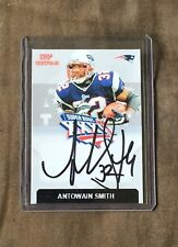 New England Patriots Antowain Smith CUSTOM  autographed Card - Super Bowl Champ