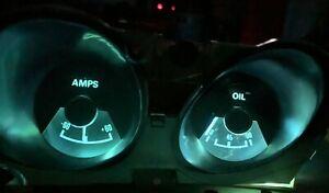 71 72 73 Mercury Cougar XR7 Dash Oil Pressure Ammeter Gauge Pack LED Upgrade Kit