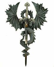Fliegender Drachen Brieföffner Drache Figur Deko Wandverzierung Schwert