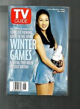 TV GUIDE-2/1998-MICHELLE KWAN-VIEWING GUIDE TO WINTER OLYMPICS-RARE