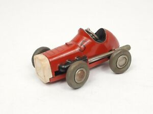 Vintage Original Schuco Wind Up Red #5 Micro Racer No. 1041 Made Western Germany