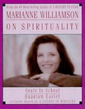 NEW! Marianne Williamson On Spirituality by Marianne Williamson CASSETTE SEALED!