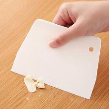 1pcs gâteau plain edge scraper decorating cutter fluide lissant outils
