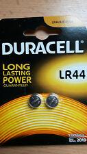 2 Stück Duracell Knopfzellen Batterien LR44  2er Blister   LR44 V13GA KA 76