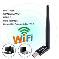 Panasonic DY-WL5 802.11n/g/b WiFi USB 2.0 Wireless-N Wifi Adapter Dongle Stick