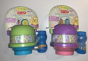 Mini Bubble Bucket Bubbles - No Spill - Lot