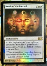 MTG Touch of the Eternal foil x4 NM